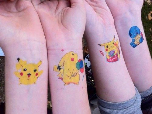 tatouages-temporaires-pikachu